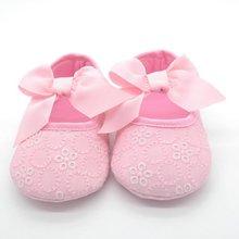 Девочка Кружева Обувь Малышей Prewalker Anti-Slip Обуви Простой Детские Обувь Мило(China (Mainland))