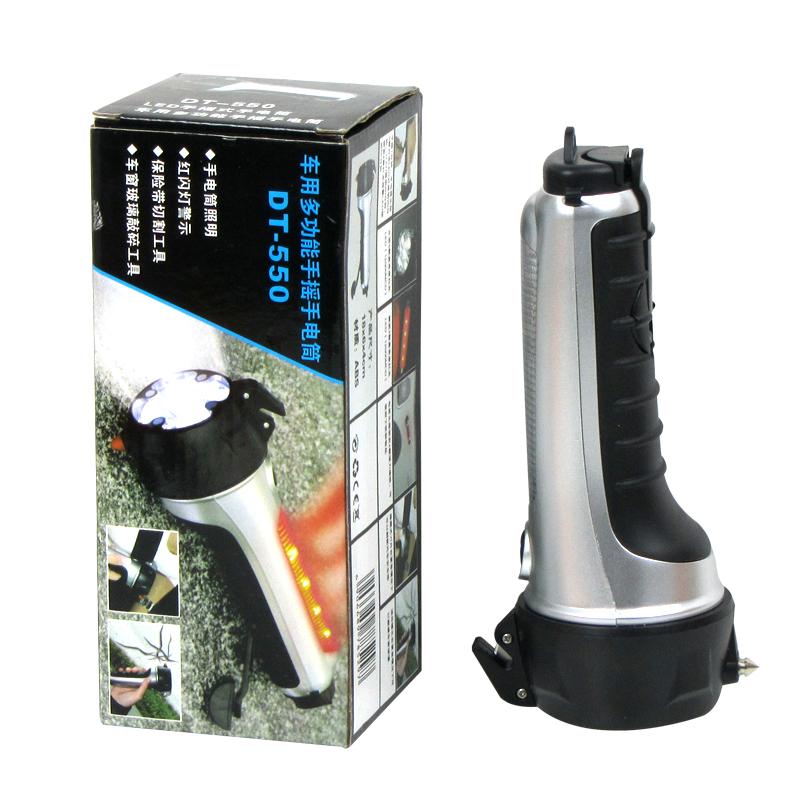 Аварийный молоток горячая распродажа 5 в 1 многофункциональный / автомобиль с из светодиодов фонарик для автоматического - используется, Молоток безопасности бесплатная доставка