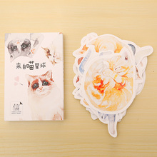 30 pcs/lot novelty Heteromorphism Cat postcard greeting card christmas card birthday card gift cards(China (Mainland))