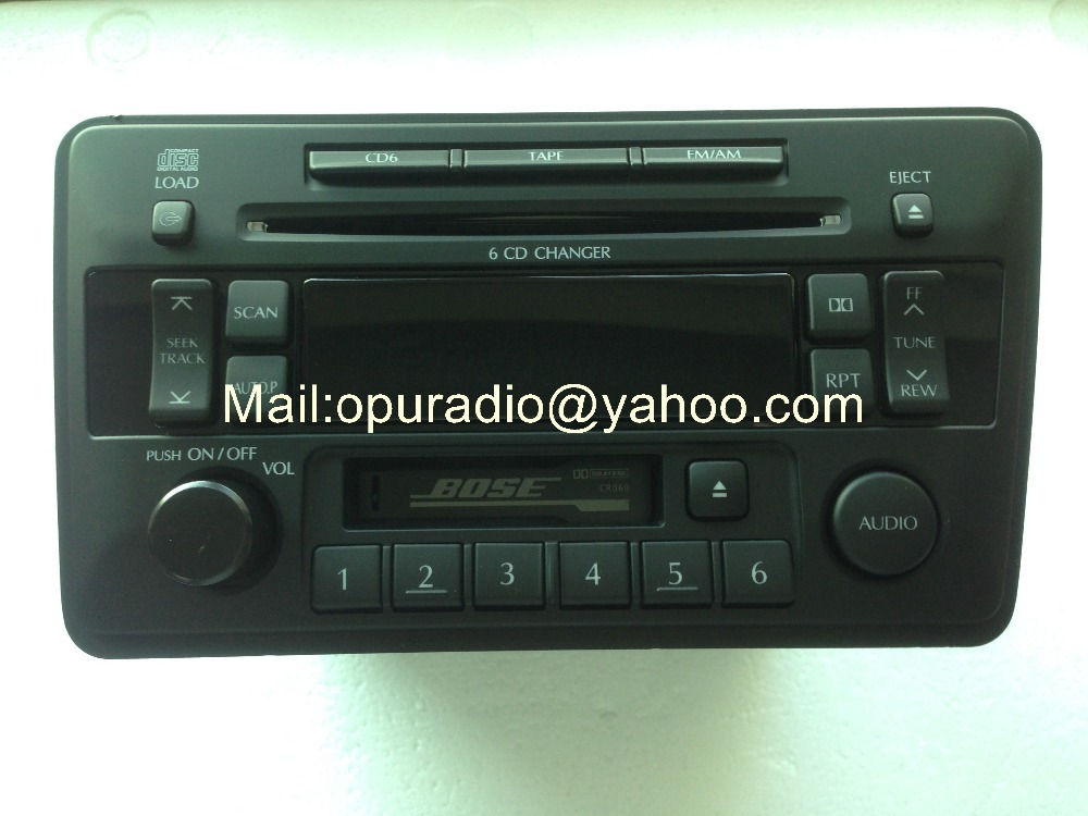 Ni$$an 28188 5W700 CD radio Clarion 6CD changer PN-2457N for Bosh Ni$$an car audio Made in Japan(China (Mainland))