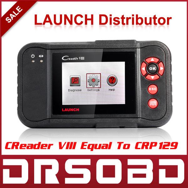 2015 Original Launch Creader VIII Code Reader Same Function as CRP129 Creader 8 ENG/AT/ABS/SRS EPB SAS Oil Service Light resets(China (Mainland))