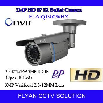 CCTV HD 3MP 2048*1536P Low Lux Sensor IP Camera ONVIF Manual Varifocal Zoom 2.8~12mm Smart Security P2P Street Surveillance<br><br>Aliexpress