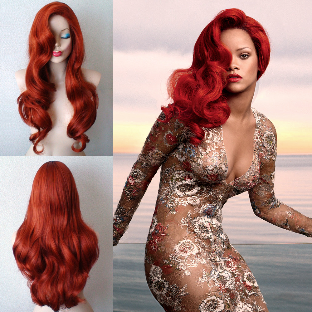 long red hair halloween wig 50 - Red Wigs For Halloween