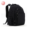 New High quality Dot zipper Multifunctional Large capacity Diaper Bag Backpack Baby Bags Multifunctional Changing Bags