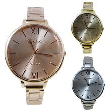 Fashion Elegant Wristwatches Men s Women s Geneva Alloy Thin Band Analog Quartz Dress Business Wrist