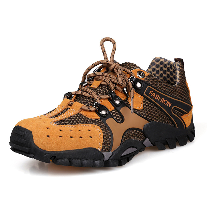 2015 Outdoor climbing shoes breathable men's professional hiking wear-resistant camping free shopping - Fashion Shoes&Bags Store store