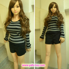 High quality Full Life real size 3D silicone with big breast love girl Sex doll sex doll with vagina anal and big boobs for men(China (Mainland))