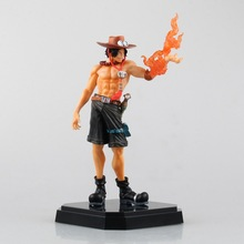 Anime One Piece 24CM Portgas D Ace Boxed PVC Action Figure Collection Model Toy Gift