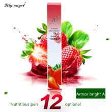 Lily angel 1pcs 5ml New Cuticle Revitalizer nutrition Oil Nail Art Treatment Manicure Soften Pen Tool Nail cuticle Oil pen(China (Mainland))