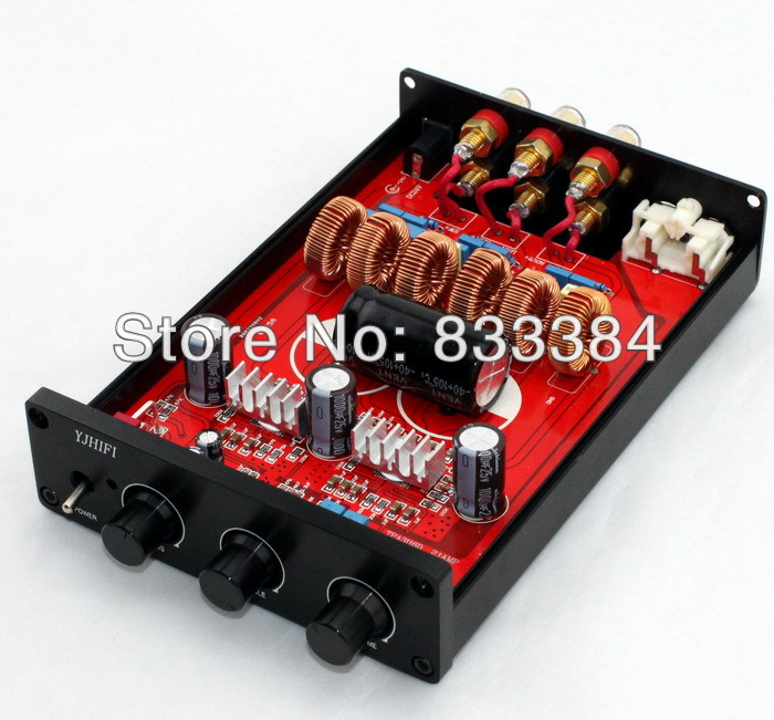TPA3116 2.1 2x50W+100W Class D AMP Amplifier Board assemble Case