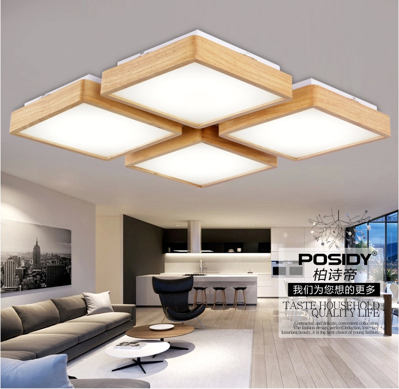Alibaba Modern Ceiling Lights : Aliexpress buy new wooden led ceiling light for