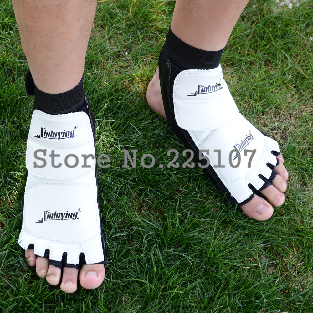 Adult child Taekwondo Foot Protector Ankle Support fighting foot guard Kickboxing boot WTF approved Palm protect<br><br>Aliexpress