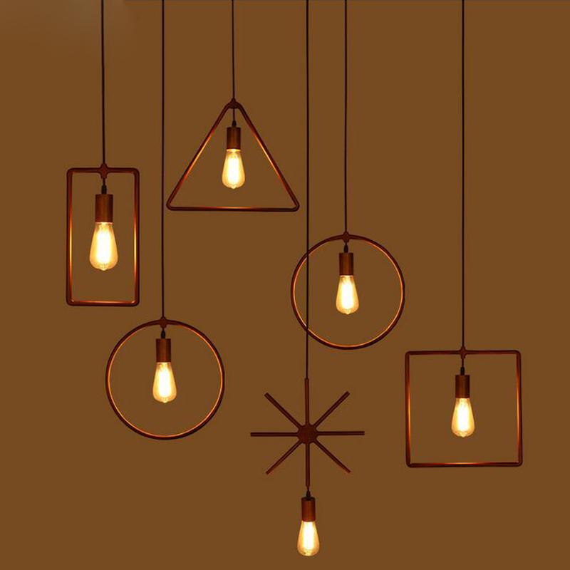 Nordic loft industrial wood chandelier modern minimalist for Modern minimalist lighting