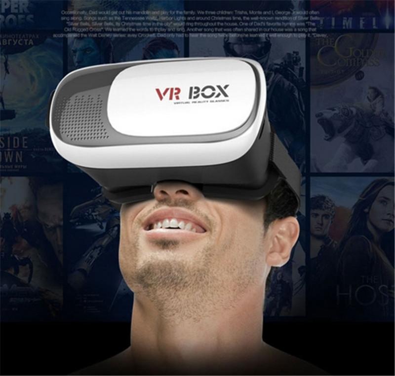 Original Google Cardboard V2 VR BOX 2 II Smartphone Headset 3D Virtual Reality Glasses Helmet Oculus Rift DK2 Goggles+Controller<br><br>Aliexpress