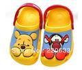 Free shipping new 2014 spring summer boy shoes Hot sale 3D cartoon Winnie Tigger beach sandal