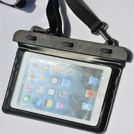8 inch Tablet Waterproof Case PVC diving bags underwater pouch For apple ipad mini water proof bag 10 meters Hot Sale(China (Mainland))