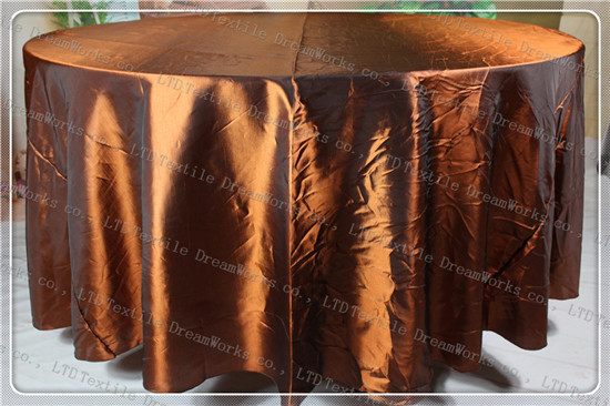 Copper Color Taffeta Tablecloth For Wedding Event&Party&Hotel&Banqet Supplies/Decoration(Chair Cover&Band&Backdrop&Napkins)(China (Mainland))