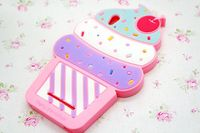 Lovely Ice cream 3D Silicone Case For case for ZTE ZMAX Z970 High Quality Cell Phone Case Silicone