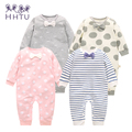HHTU Baby Rompers Long Sleeve Baby Girls Clothing Jumpsuits Children Autumn Newborn Baby Clothes Cotton