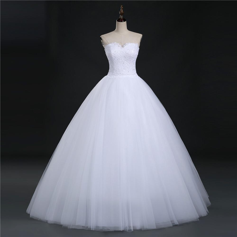 ZJ9022 2016 мода Хрустальные Бусы Белый Кот Свадебное Платье для невест плюс размер формальные милая Крозе узелок Вернуться Размер 2-26
