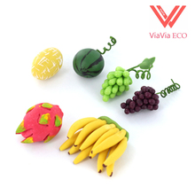6pcs/lot 1/12 Scale Dollhouse Miniature Fresh Fruits(Hong Kong)