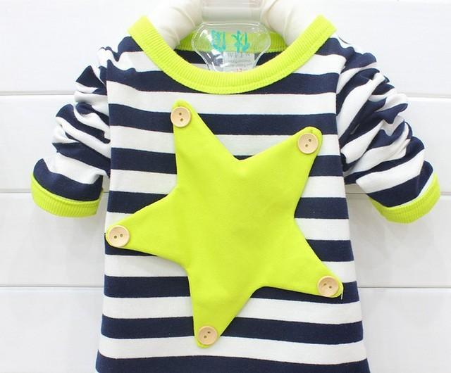Бесплатная доставка 2015 новая весна и осень мода детская футболки мужская детские ...