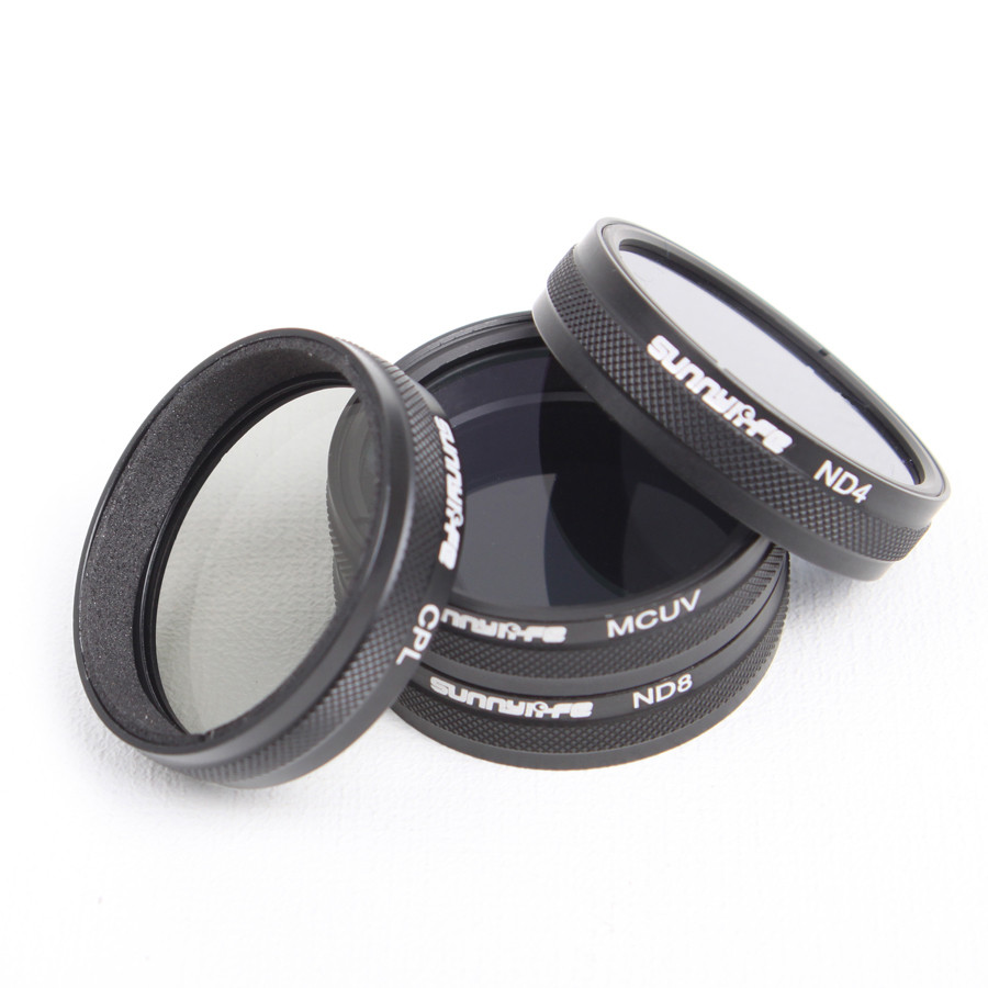 4Pcs/lot for DJI Phantom 3 Phantom 4 Accessories ND4/ND8/MCUV/CPL Lens Filter Phantom 4 Phantom 3 Professional&Advanced&Standard
