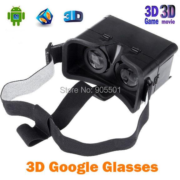 Universal 3D Google Cardboard Virtual reality glasses 4-7 Inch Smartphone Oculus Rift dive vrase - Win-Win store