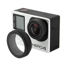 UV Action Camera Protective Accessories Lens Cover Optical Glass Lens Cover for Gopro Hero 4 3 2 1(China (Mainland))