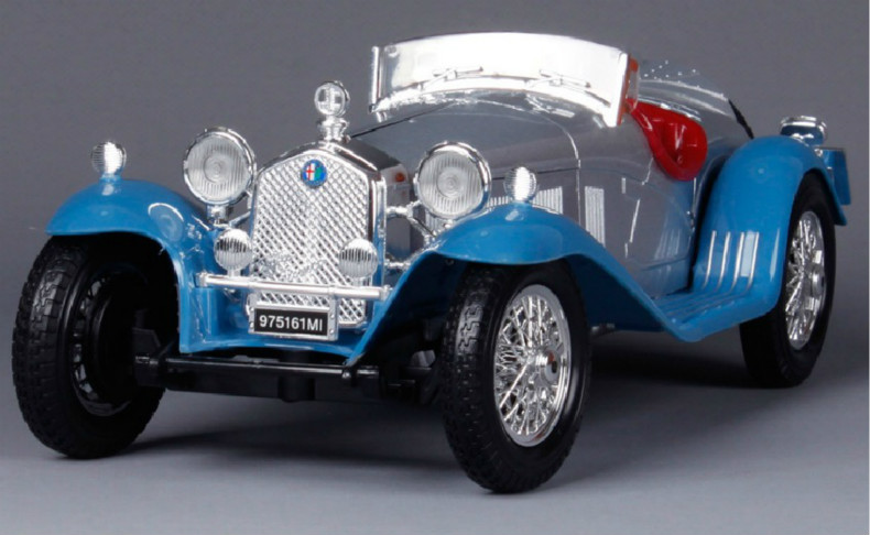 1:18 Voiture Car Brinquedos For Vintage 8C 2300 Spider Touring 1932 Die Cast Metal Model Kids Toys Men Gift Collection(China (Mainland))