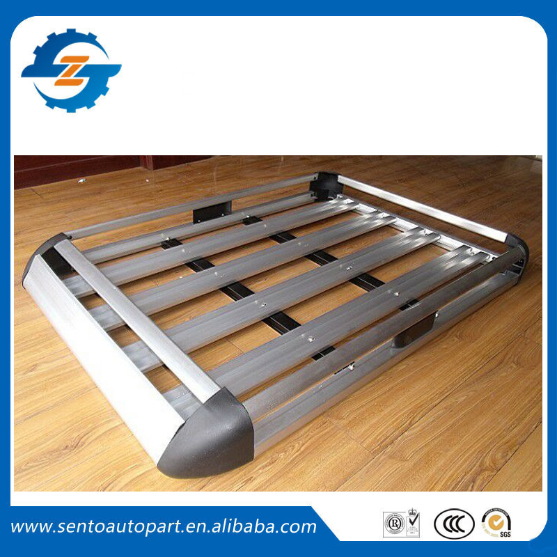 Hot sale aluminum alloy Double deck Universal SUV roof rack top luggage carrier Fit for universal car(China (Mainland))