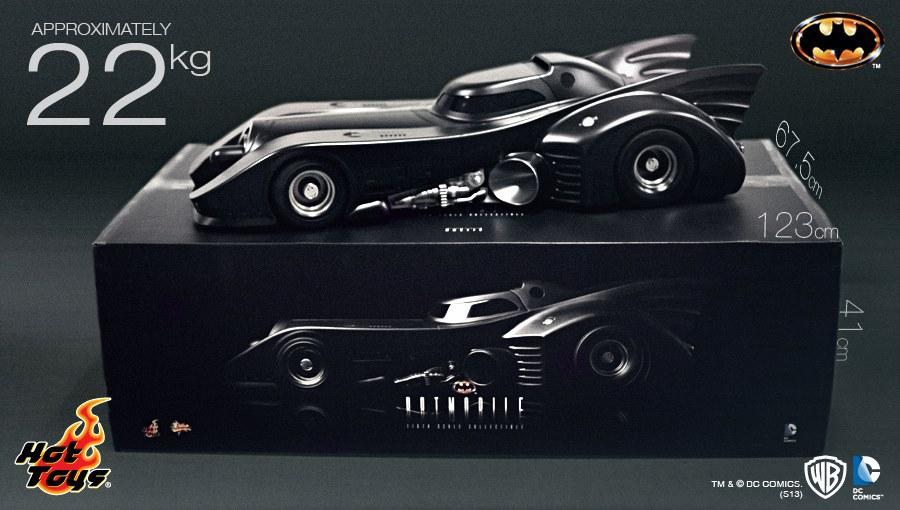 Batmobile Toy Model Hot Toys 1/6 Batmobile 1989