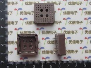PLCC 44P IC socket, 44Pin integrated circuit socket , 44PIN IC socket ,Wholesale 30pcs/lot