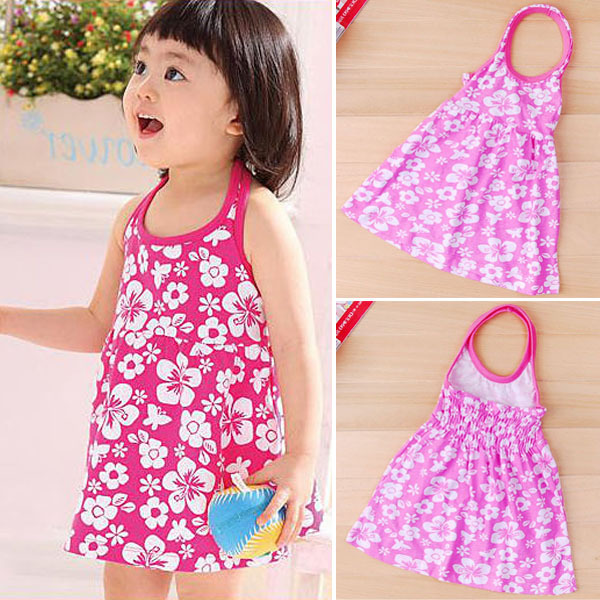 Girls Sun Dresses - Qi Dress