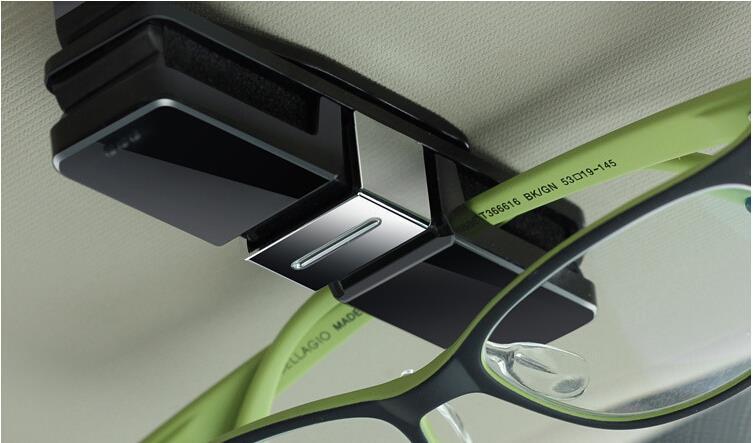 More Fashion! Both Sides Style Car Glasses Clip / Glasses Box Supporter for mazda CX-5 CX-7 / RAV4 / FJ150 / golf 7(China (Mainland))