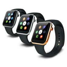 Новый Smartwatch bluetooth-смарт часы с чсс для Apple , iPhone Samsung Android A9 Smartwatch Relogio Inteligente Reloj
