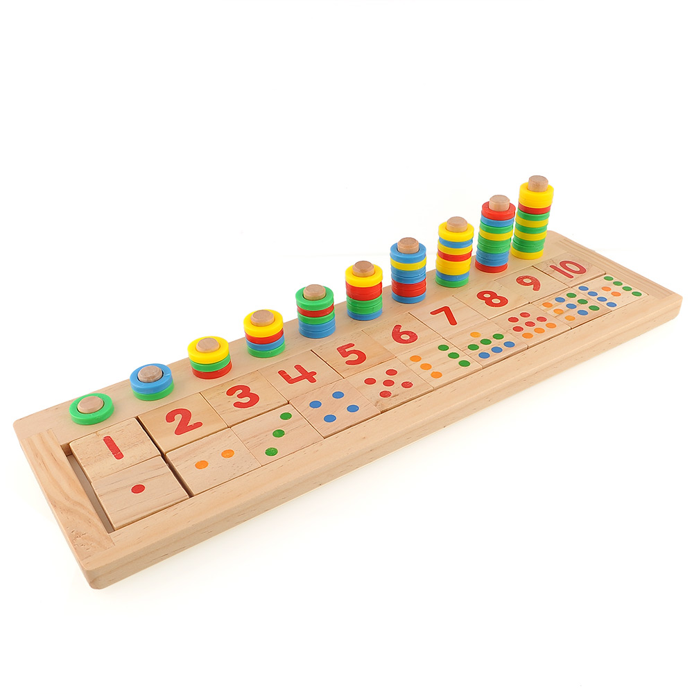 Brand New Montessori Teaching Math Mathematics Number Wood Board Preschool Educational Development Toy Child Kid Gift(China (Mainland))