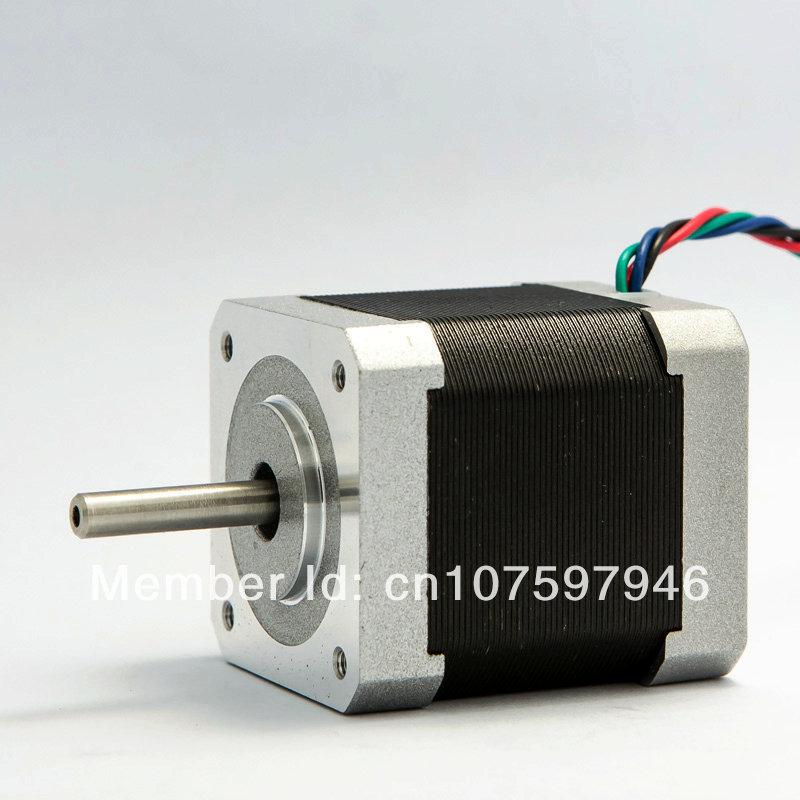 5pcs selling double shaft 2 phase hybrid stepper motor for Double shaft stepper motor