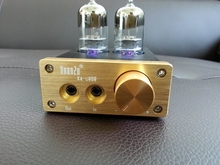 NS-08E 6J9 Vacuum Tube Headphone Amplifier Mini Stereo Audio HiFi amp(China (Mainland))