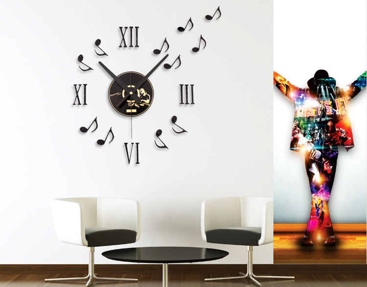 Diy Wall Decoration With Cd : Hot sale fashion creative diy cd note wall clock home