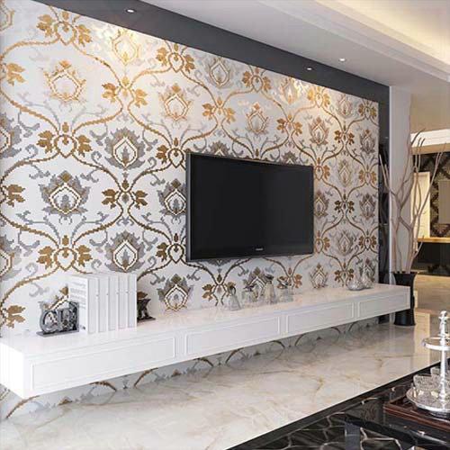 Купить Строительство и Недвижимость  Crystal Glass Mosaic Tiles Mirror Puzzle Parquet TV Backsplash Wall Tile Wall Stickers for Bathroom Kitchen Home Decor vinyl wal None