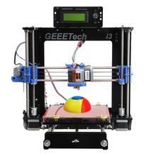 Geeetech Black/Transparent two color optional Full Kit Acrylic Frame Reprap Pursa I3 3D Desktop Printer Sanguinololu board