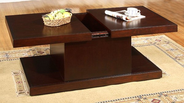 coffee table with extendable top 2