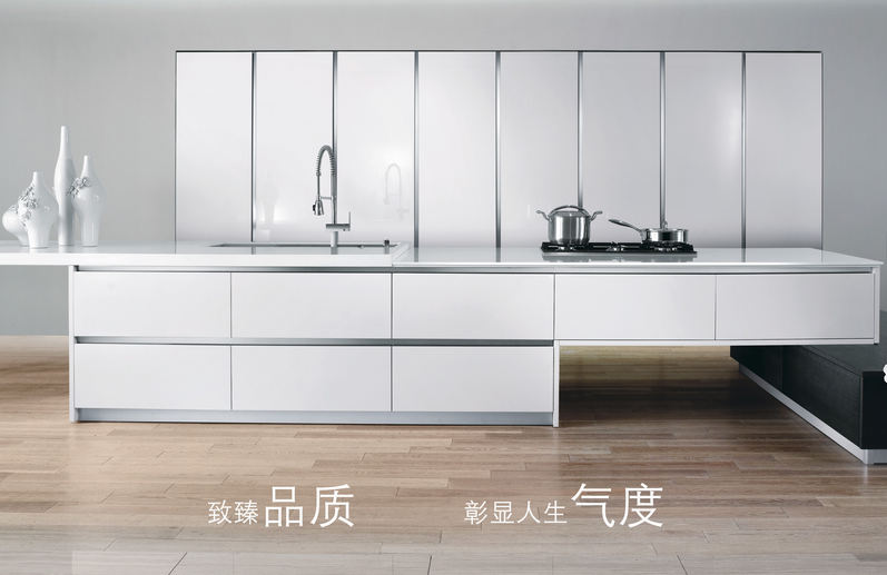 White glossy kitchen cabinet doors(China (Mainland))