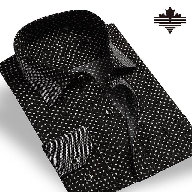 Мужчины полосатый рубашки мода 2016 мужская рубашка особого ухода тонкий классический ...