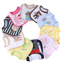 2015 New Cotton Brand Baby Bib Infant Saliva Towels Baby Waterproof Bibs Newborn Wear Cartoon Accessories