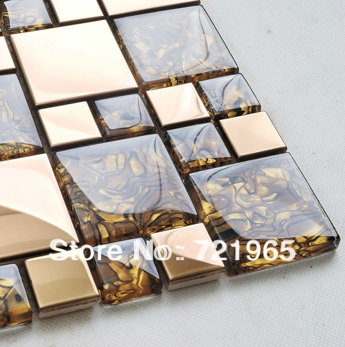 stainless steel tiles glass mosaic ssmt068 mother of pearl