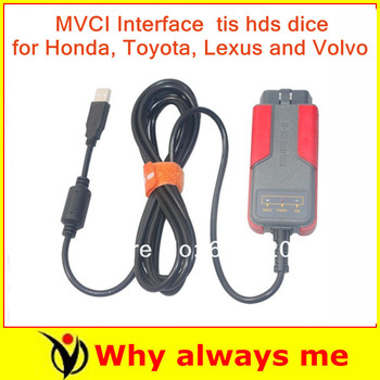 2015 Hot !  mvci for toyota tis hds volvo dice profassional OBDII OBD2 Reprogramming diagnostic tool