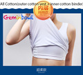 Geminbowl All cotton Vest sport Lesbian Breathable cosplay Flat Breast corset girl Chest Binder