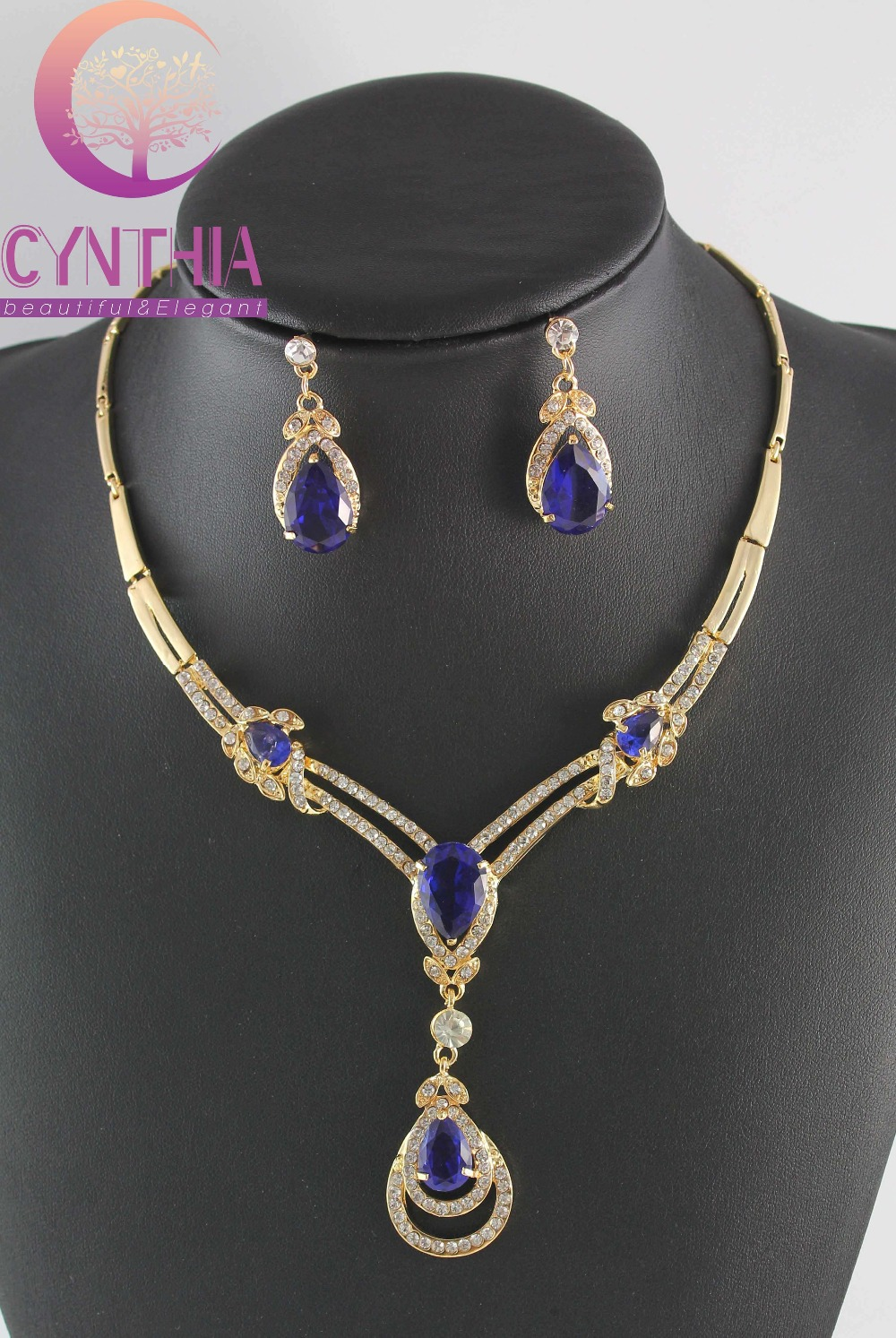 wedding costume jewelry set for women wb gs03 in jewelry sets from